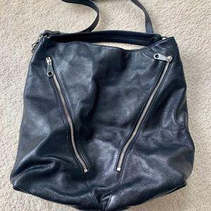 Rebecca Minkoff Black Zipper Crossbody Handbag